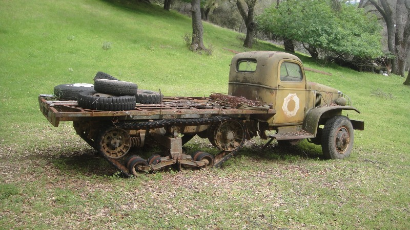 Chevy ton and a half track - G503 Military Vehicle Message Forums